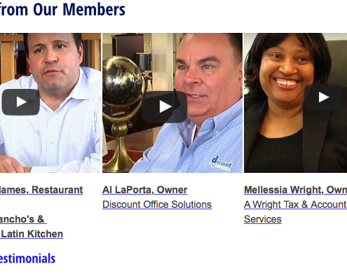 Video testimonials created for client Barter Network.