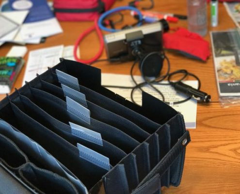 Gbox Organizer Kickstarter for Corapillar